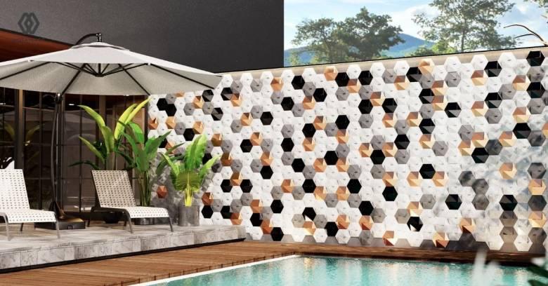 Percantik Dinding Kolam Renang dengan 5 Material Ini