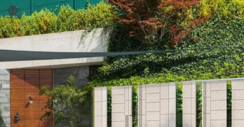 Bikin Nyaman, Ini 8 Material untuk Dinding Taman