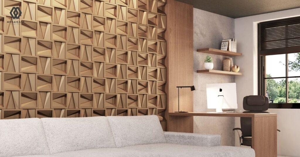 Pasang Dekorasi Dinding Untuk Membuat Ruang Tamu Nampak Nyaman