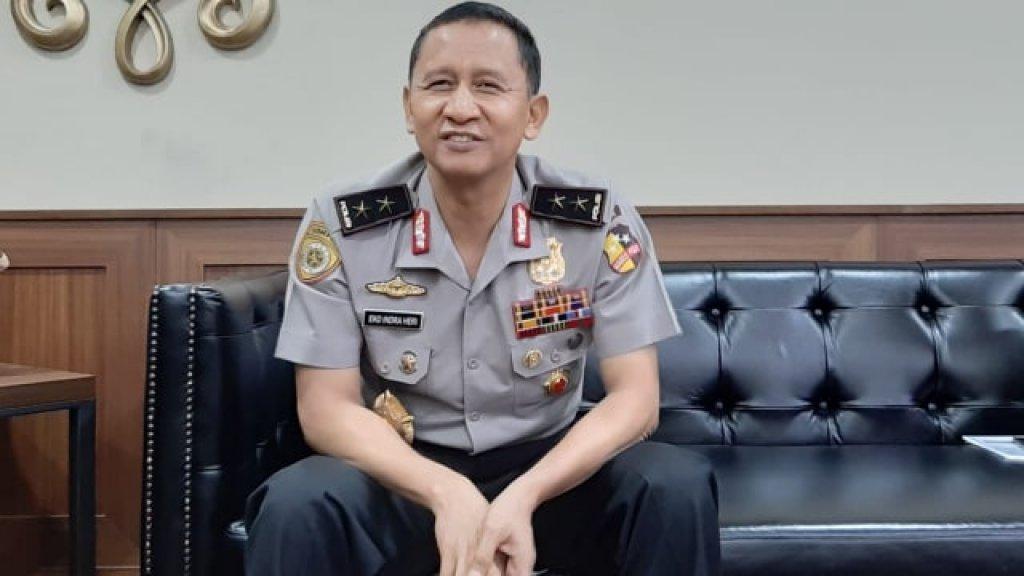 Kapolri resmi mengganti Kapolda Sumsel Irjen Pol Prof Eko Indra Heri S, MM