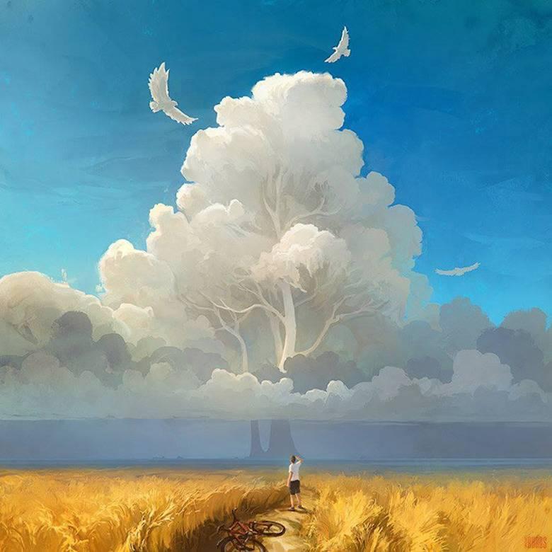Cermin, Cangkir, Langit dan Laut
