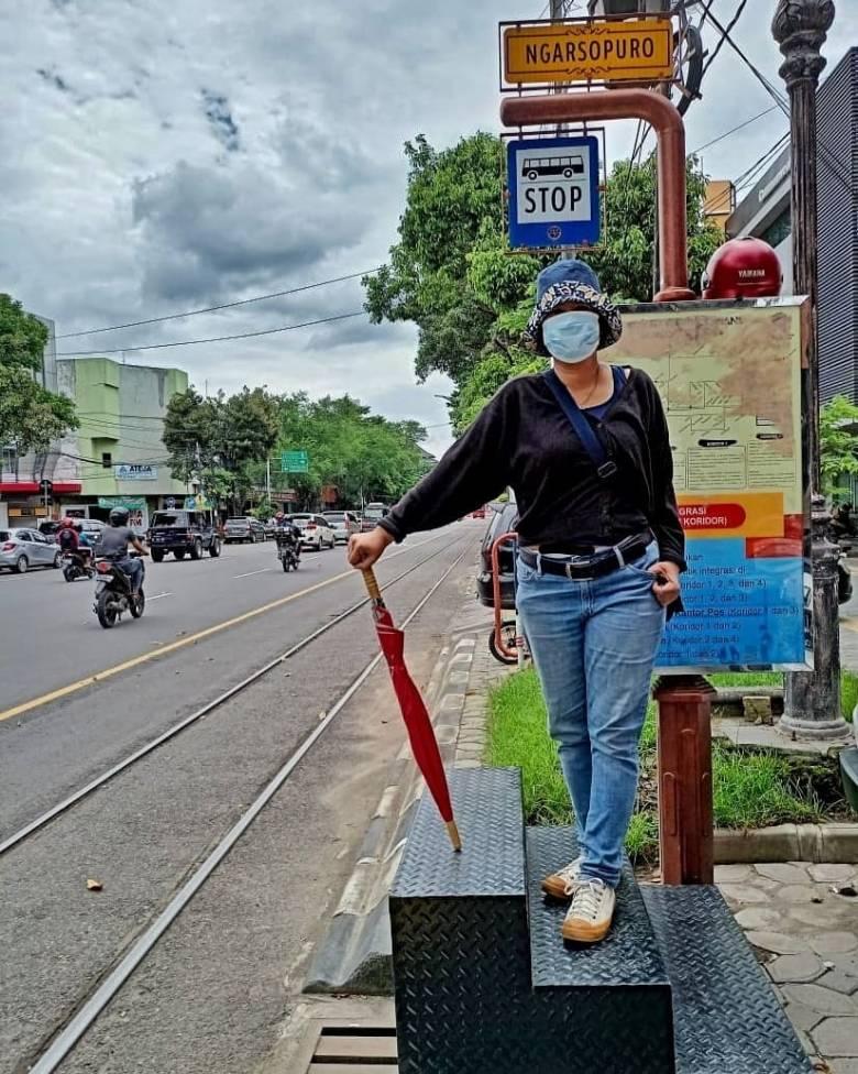 Menikmati Batik Solo Trans