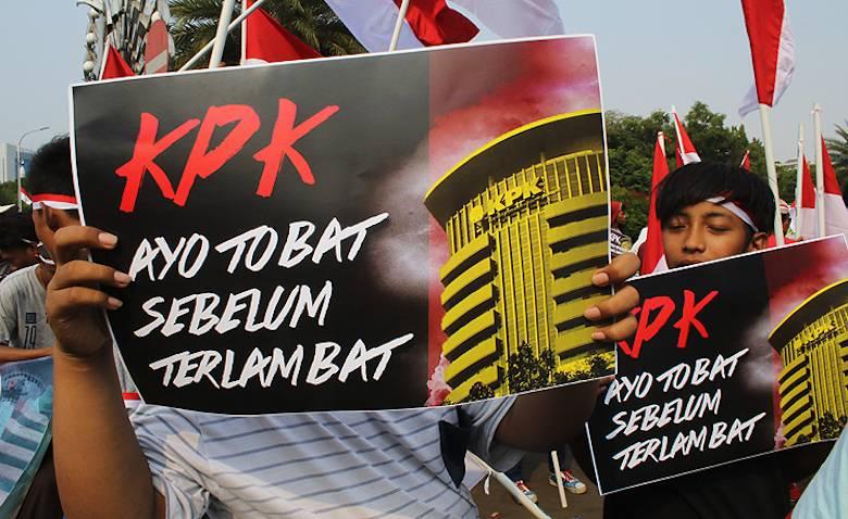 Demo Revisi UU KPK Jelas Menyasar Jokowi